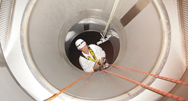 working under confined space